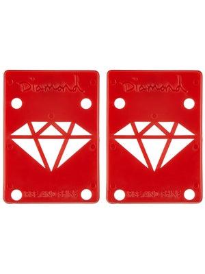 Diamond Red Riser Pads 1/8