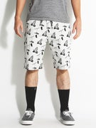 DGK All Day Chino Shorts  Grey