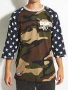 DGK Americana Custom 3/4 Sleeve Knit