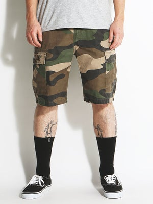 DGK AR-15 Cargo Shorts Big Woods Camo 28