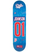 DGK Johnson Draft Picks Deck  8.1 x 32