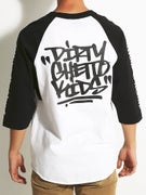 DGK Blasted 3/4 Sleeve Raglan