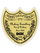 DGK Bottle Service Sticker