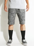 DGK Concrete Grown Chino Shorts  Grey