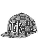 DGK Checkers Snapback Hat