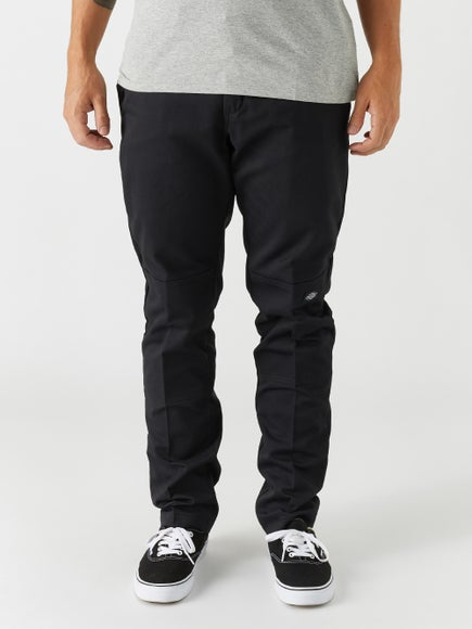 279be6f0 Dickies 67 Flex Double Knee Work Slim Fit Pant Black
