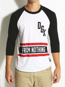 DGK Nothing 3/4 Sleeve Raglan
