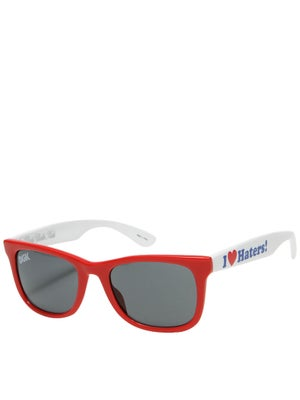 DGK Haters Sunglasses  Red/White