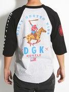 DGK Hustle Sport 3/4 Sleeve Raglan
