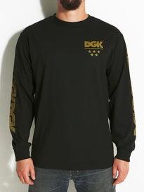 DGK Division Metallic L/S T-Shirt