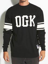 DGK Inning Custom L/S Crew Knit Jersey