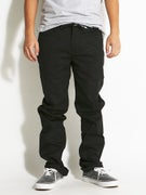 DGK Icon Stretch Twill Pants  Black