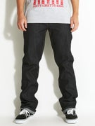 DGK Icon Stretch Jeans  Raw Indigo