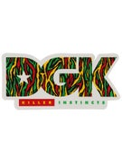 DGK Killer Instincts Sticker