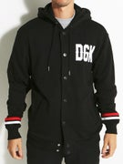 DGK From Nothing Hooded Letterman Fleece Jacket