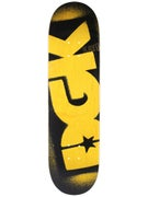 DGK Price Point Yellow Deck  8.5 x 32.25