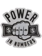 DGK Power In Numbers Sticker