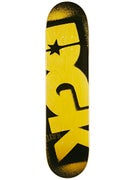 DGK Price Point Team Yellow Deck  7.63 x 31.5
