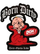 DGK x Popeye Sweet Pea Sticker