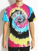 DGK x Popeye Spinach Trip Tie Dye T-Shirt
