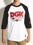DGK Roses 3/4 Sleeve Raglan