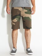 DGK Street Chino Shorts Big Woods Camo