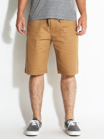 DGK Street Chino Shorts Dark Khaki