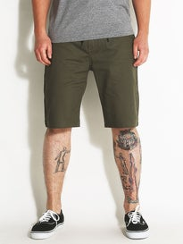 DGK Street Chino Shorts  Army