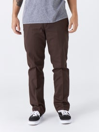 Dickies 67 Slim Fit Work Pant Brown