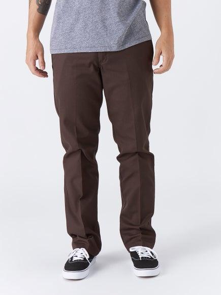 Dickies 67 Slim Fit Work Pant Brown