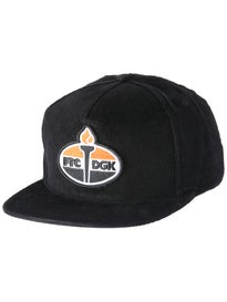 DGK x FTC Torch Snapback Cap Hat