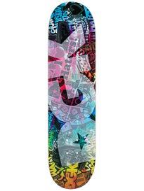 DGK Trippy Collage Deck  7.8 x 31.5
