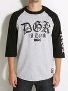DGK 'Til Death 3/4 Sleeve Raglan