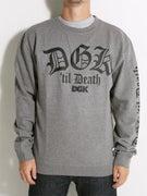 DGK 'Til Death Crew Sweatshirt