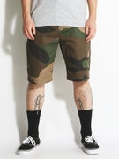 DGK Working Man 3 Chino Shorts  Big Woods Camo