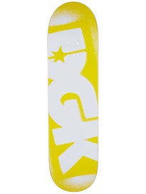 DGK Price Point Yellow Deck 8.25 x 32