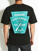 Diamond Fish and Game Crest T-Shirt