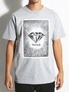 Diamond News Print T-Shirt