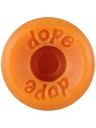 Dope Skateboard Wax Wheel Orange