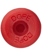 Dope Skateboard Wax Wheel Red