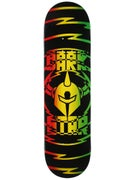 Darkstar Shock V2 Rasta Deck  8.25 x 31.5