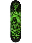 Darkstar Dyet Shrine Green/Black Deck  8.0 x 31.6