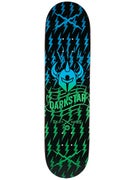 Darkstar Axis Green Fade Deck  8.125 x 31.8