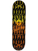 Darkstar Axis Orange Fade Deck  8.375 x 31.8