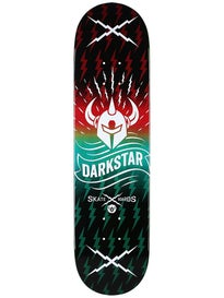 Darkstar Axis Red/Aqua Deck  8.0 x 31.6