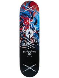 Darkstar Axis Blue Deck 8.125 x 31.8