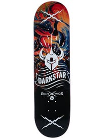 Darkstar Axis Orange Deck 8.375 x 31.8