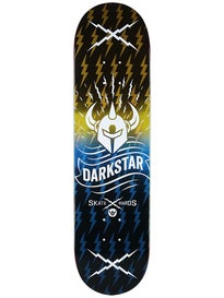 Darkstar Axis Yellow/Blue Deck  8.125 x 31.8