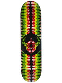 Darkstar Badge Rasta Deck  8.0 x 31.6