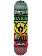 Darkstar Blunt Rasta/Glow Complete  7.75 x 31